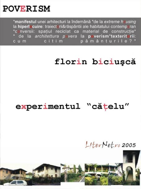 """Experimentul """"Cățelu"""" de Arhitect Florin Biciușcă"""