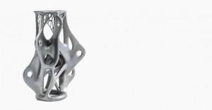 Piesă metalică realizată cu tehnologii de printare 3D