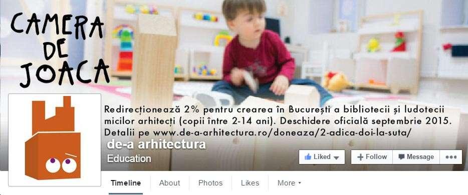 De-a Arhitectura pe Facebook