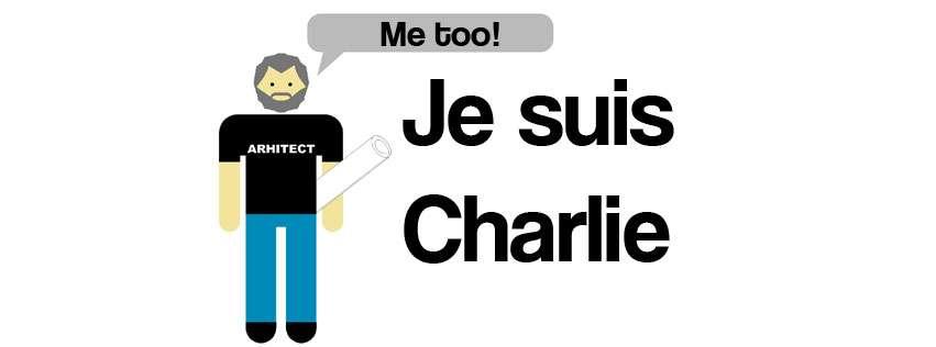 Și arhitecții desenează! #JeSuisCharlie